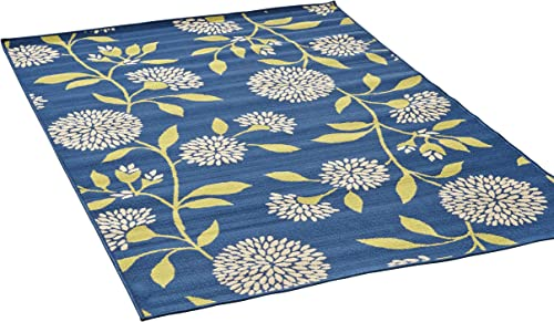 Christopher Knight Home Tilda Outdoor Floral 8 x 11 Area Rug