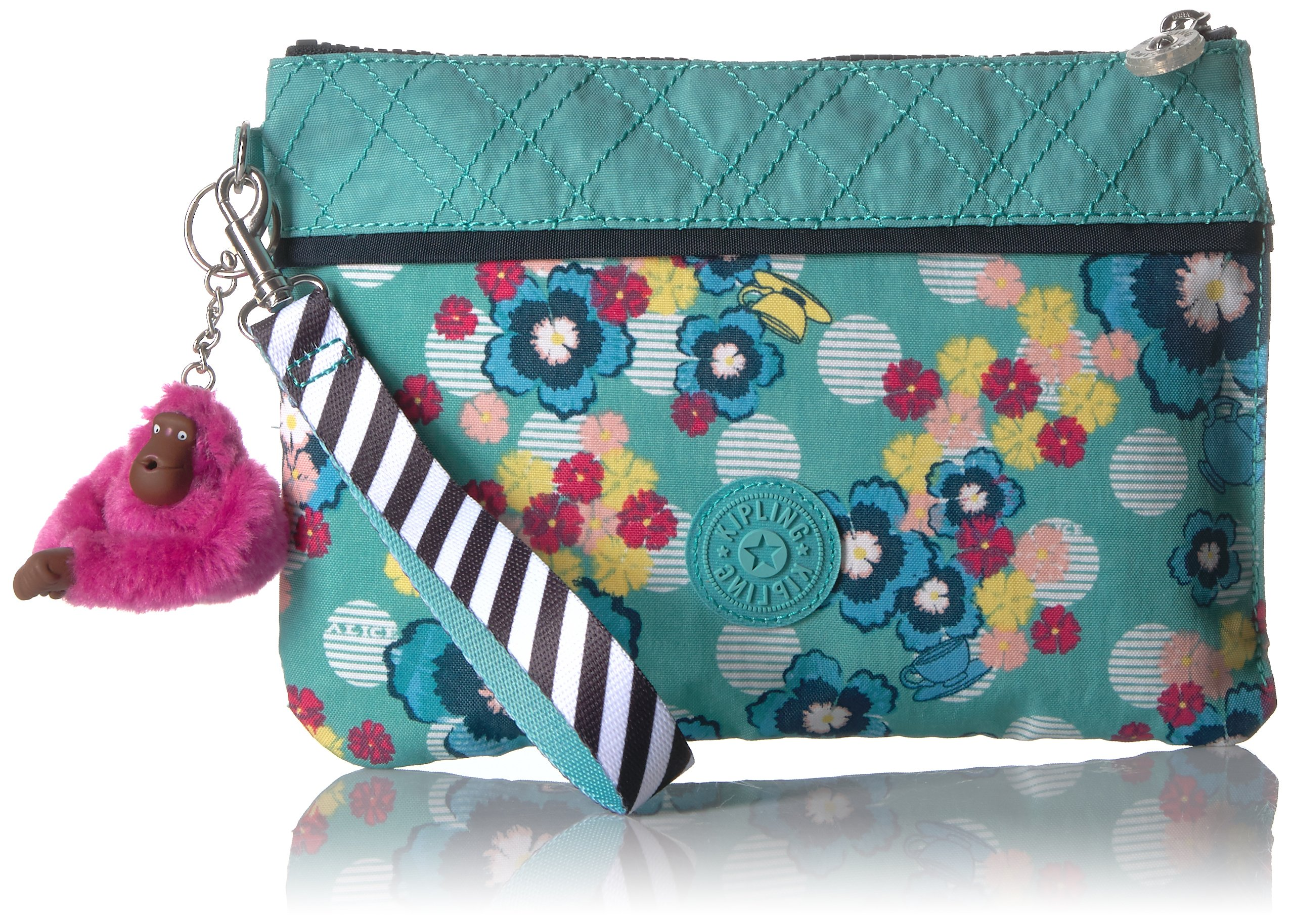 Kipling Disney Alice in Wonderland Collection Electronico Pouch, Tea Party by Kipling