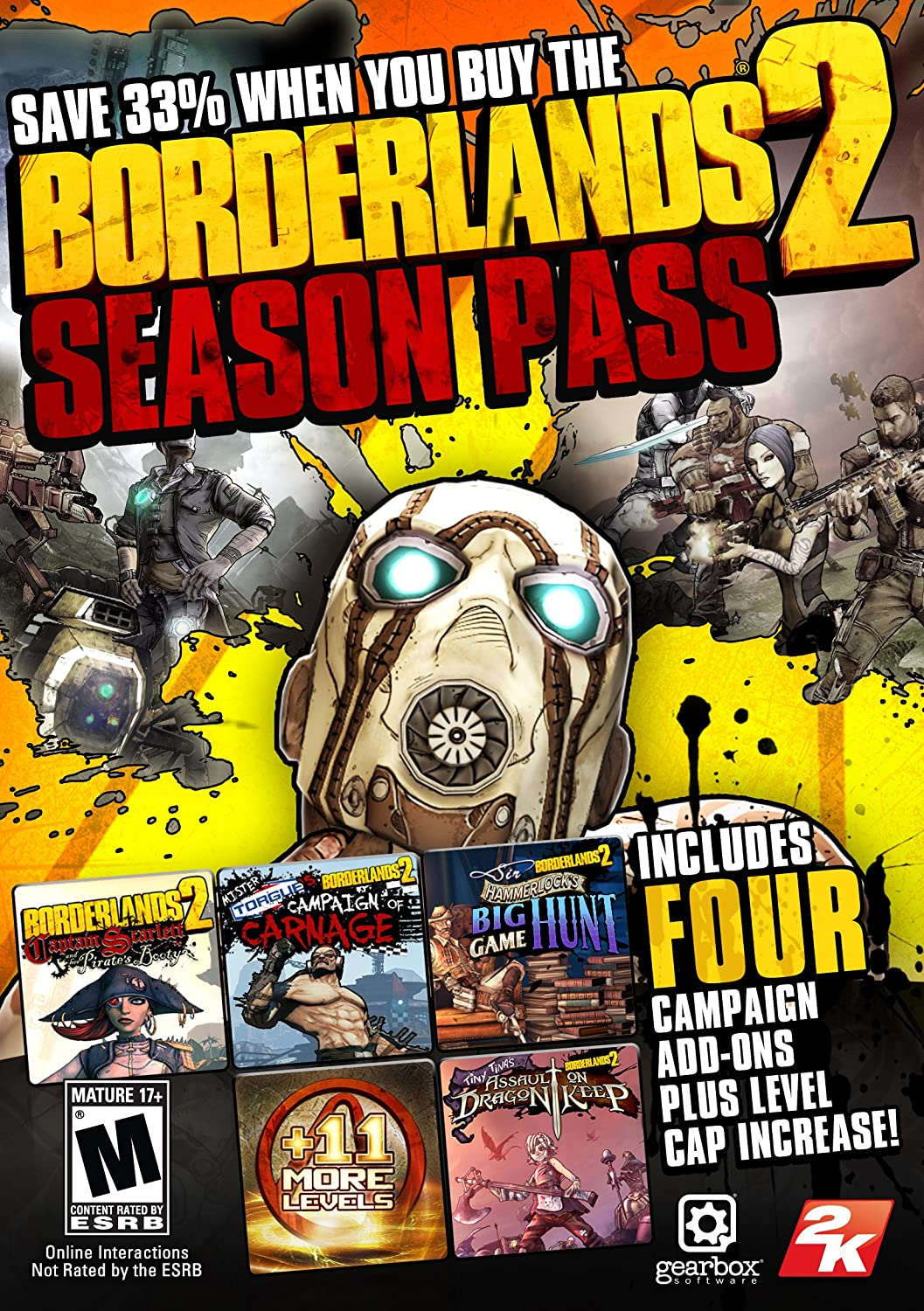 Amazon com: Borderlands 2 - Xbox 360: Take 2: Video Games