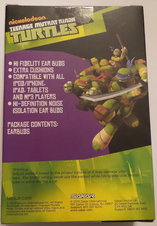 Sakar Teenage Mutant Ninja Turtles Auriculares con micrófono ...
