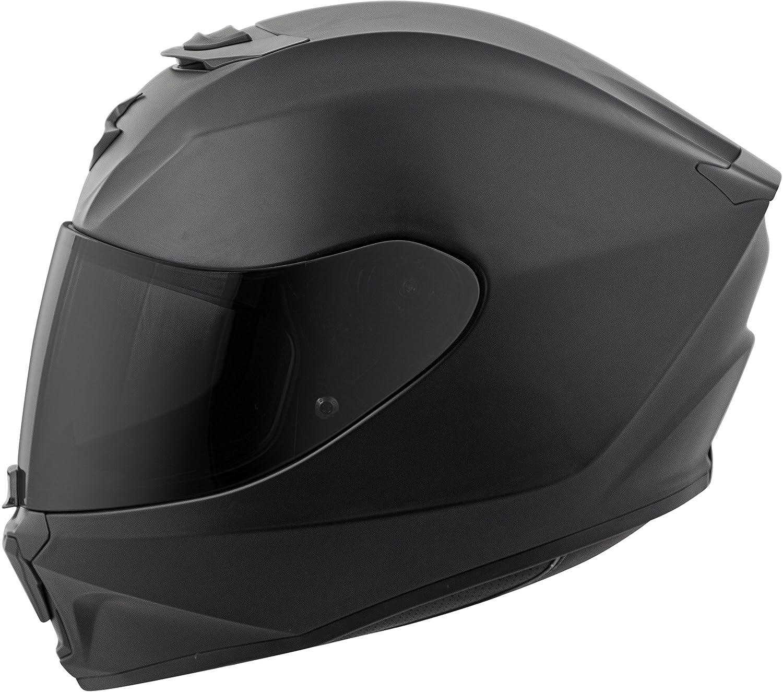 Matte Black//Medium 42-0104 Scorpion EXO-R420 Solid Adult Street Motorcycle Helmet
