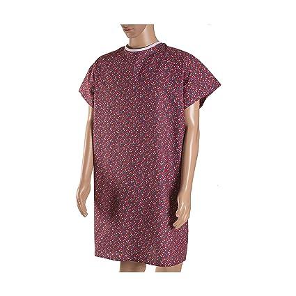 DMI - Hospital de convalecencia albornoz con back Tie, Rosa Print ...