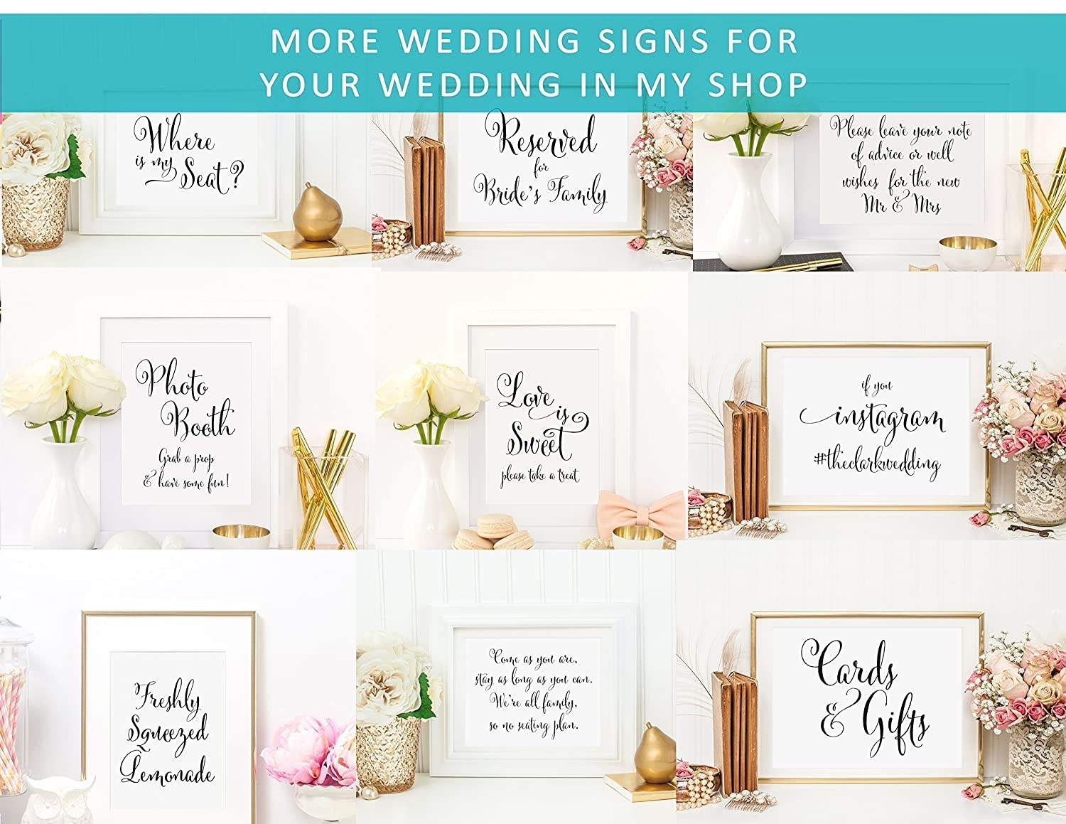 Wishing Well Sign Your Choice of Size and Color Print Sign Wedding Well Wishes Wishes for the Bride and Groom UNFRAMED Write Us a Message with Your Thoughts.Advice Sign