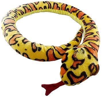 Animal Planet 67 pulgadas (170 cm) extra grande serpiente amarilla de peluche - Peluches