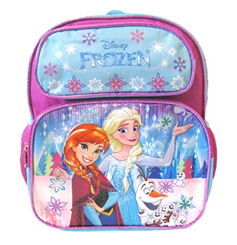 bec8cf70fef Image Unavailable. Image not available for. Color  Disney Frozen 12 quot   Toddler School Backpack - Elsa