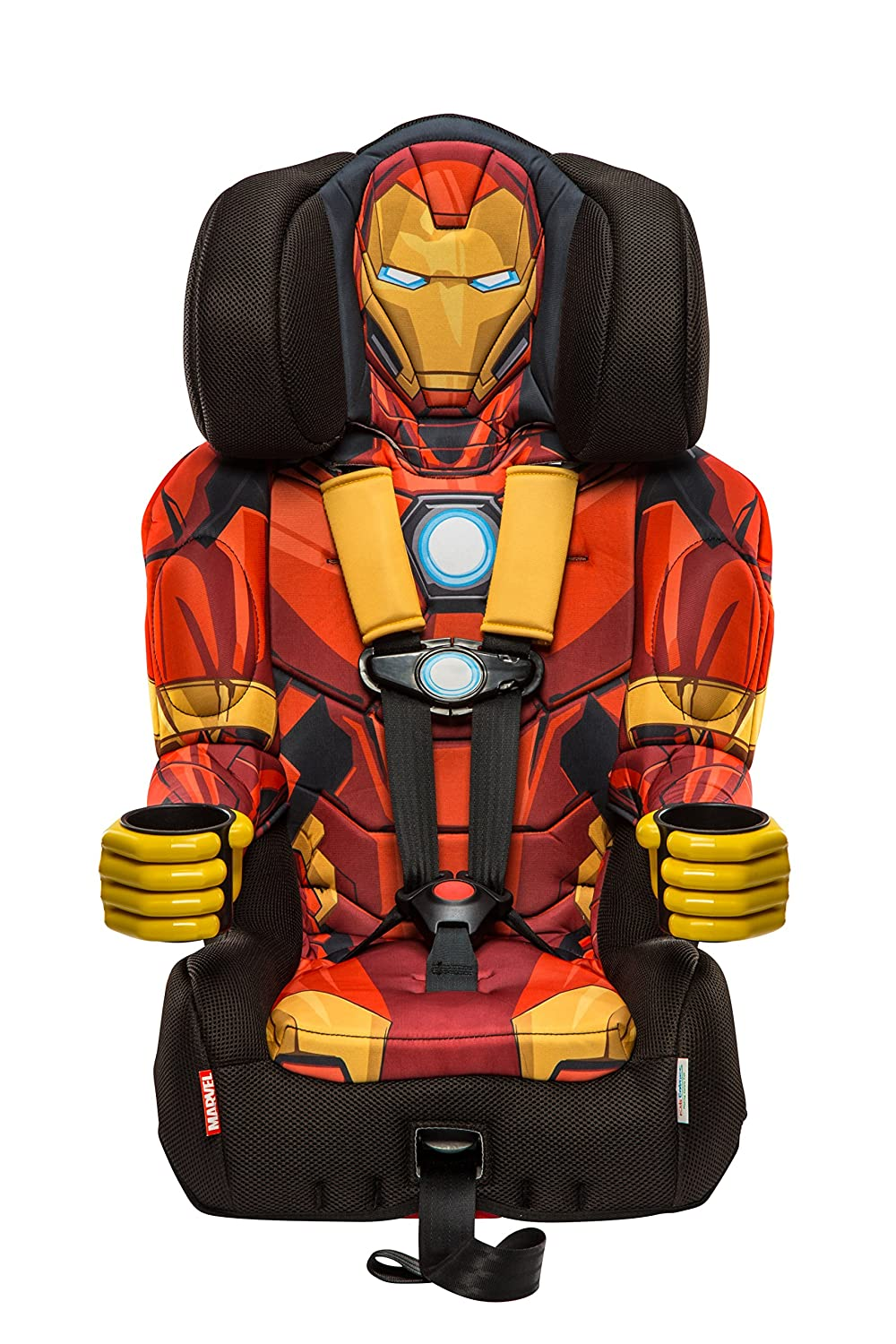 KidsEmbrace Friendship Combination Booster-Iron Man, Red, Gold 3001RONCAN