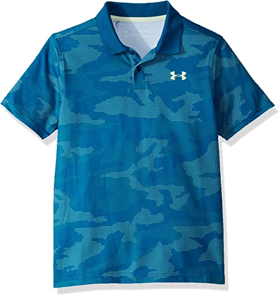 Under Armour Performance 2.0 Novelty Camisa Polo, Niños, Verde ...