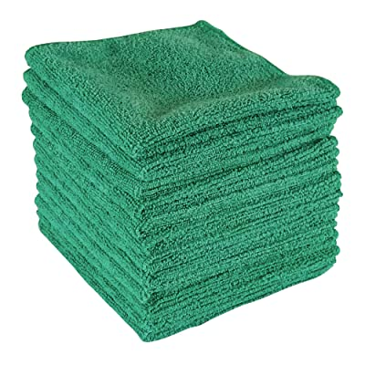 "Dry Rite Best Magic Microfiber Cloth - Professional Series Cleaning Towels for Fine Auto Finishes, Interior, Chrome, Kitchen, Bath, TV, Glass- Non Scratching, Streak Free, Use Wet or Dry - 12"" x 12"": Automotive"