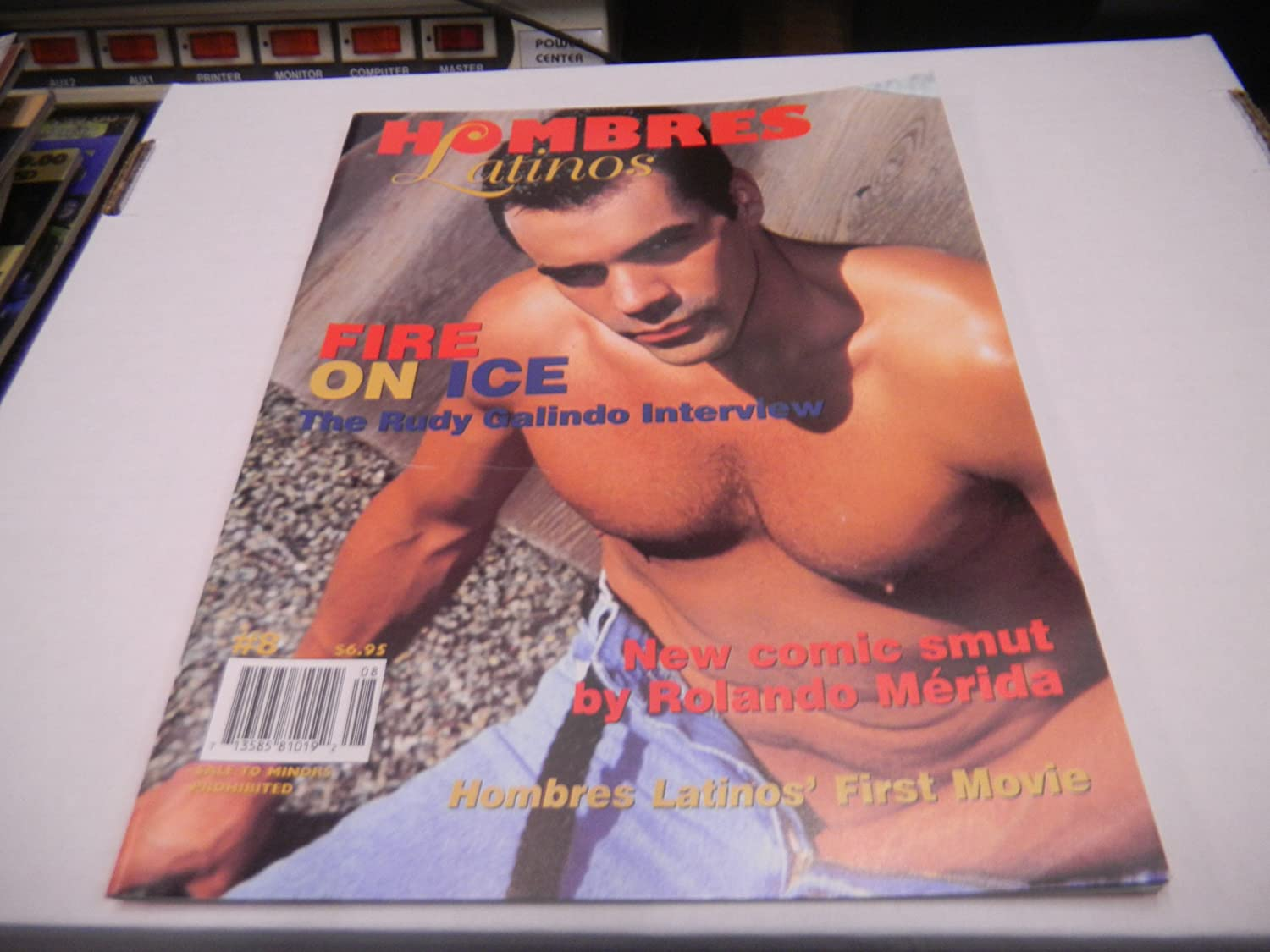 Amazon.com: Hombres Latinos Adult Gay Magazine #8 Summer 1997: Everything  Else