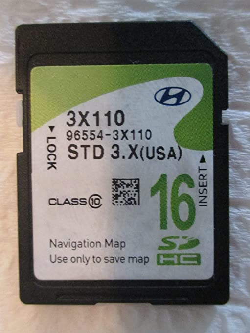 Amazon.com: 2014 Hyundai Elantra Navigation MAP Sd Card,GPS ...