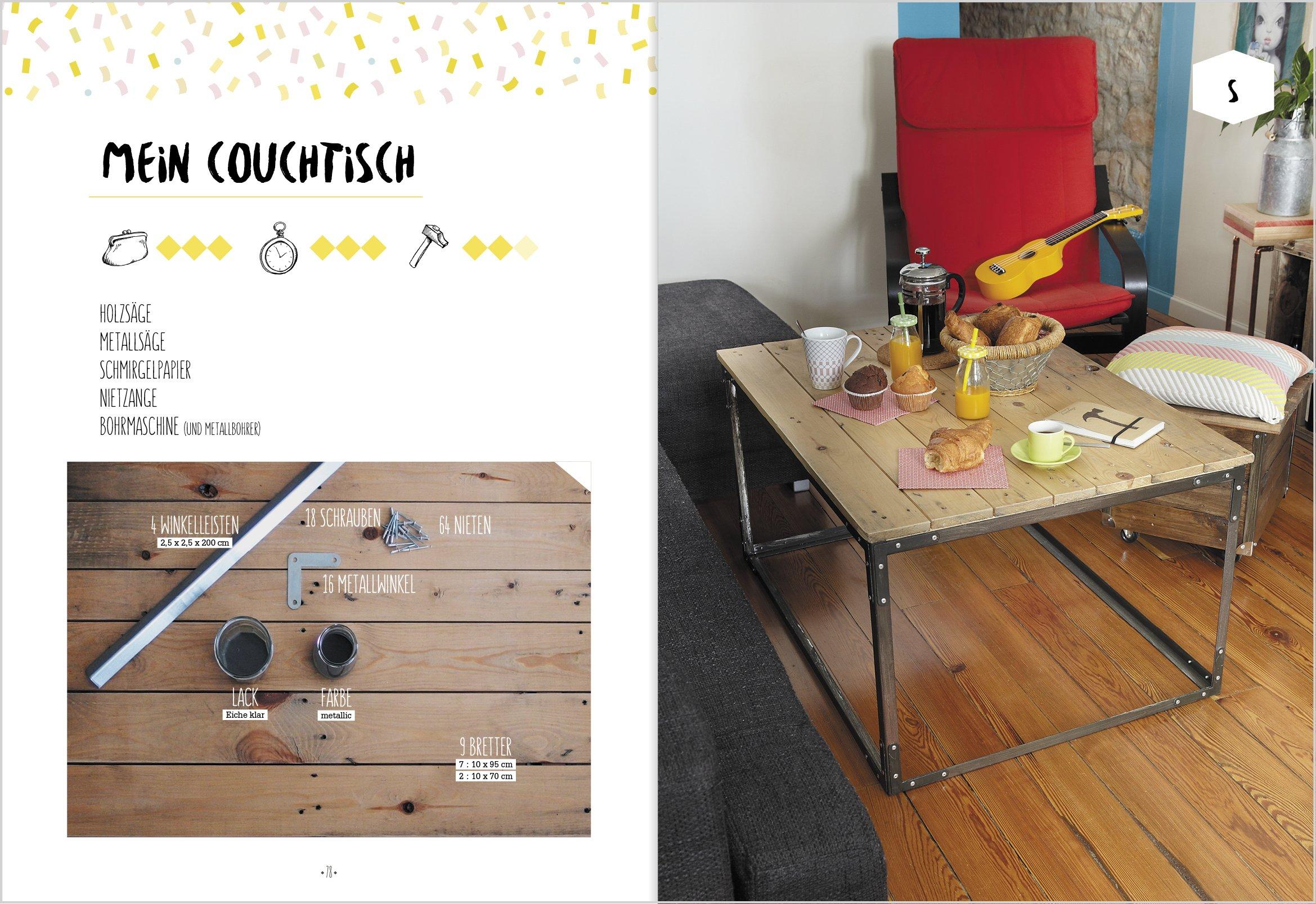 Genial Einfache Holz Ideen: 20 Anleitungen Zum Sägen, Kleben, Loslegen.:  Amazon.de: Maud Vignane, Sarah El Karmiti: Bücher