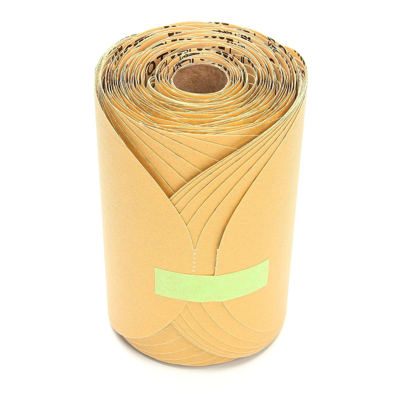 6 in x NH P360 A-weight 3M Stikit Gold Paper Disc Roll 216U 75 discs per roll 60010013666