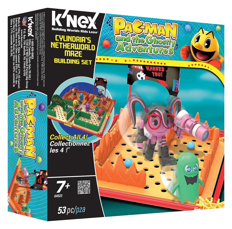 KNEX Pac-Man Spirals World Maze Building Set K/'NEX 64547