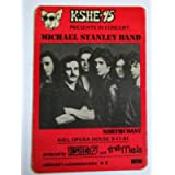 1981 9/11 Michael Stanley Band Radio Promo Backstage Pass Kiel Opera House Red