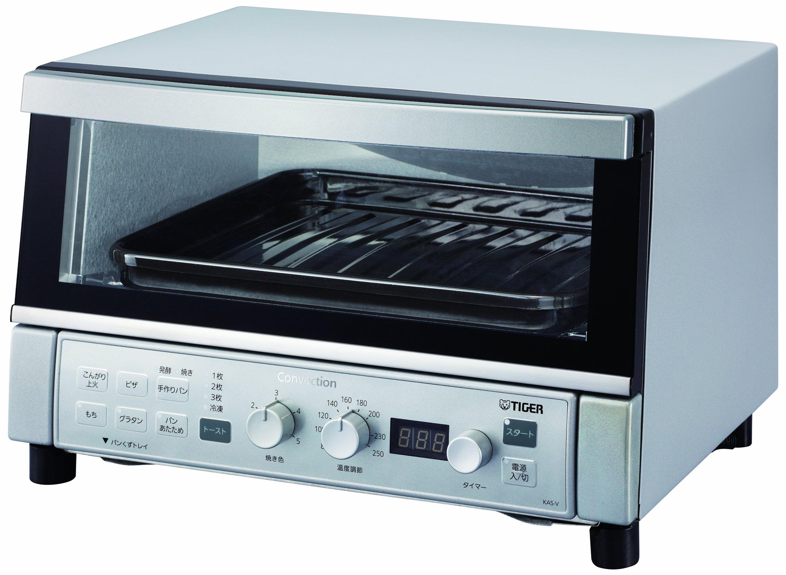 タイガー コンベクションオーブン&トースター 「やきたて」 シルバー KAS-V130-SN product image