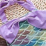 Toddler Baby Girls Mermaid Halter Romper Sunsuit