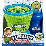 Little Kids Fubbles Blow Tons of Sky High Bubbles Party Machine for Kids & Includes Bubble Solution, Green