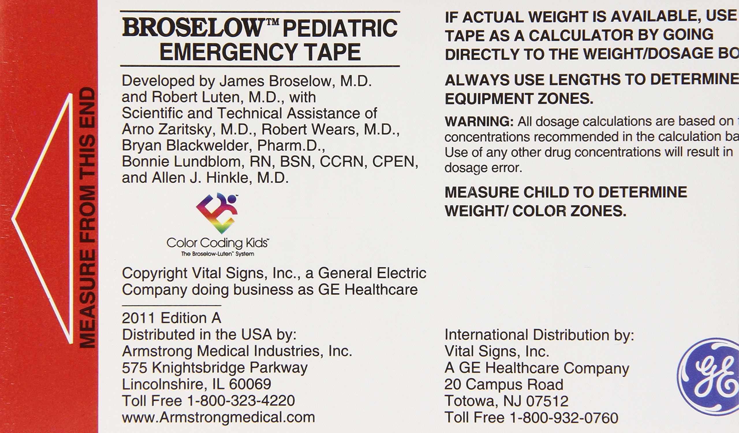 Broselows Pediatric Emergency Tape James Md Broselow Robert