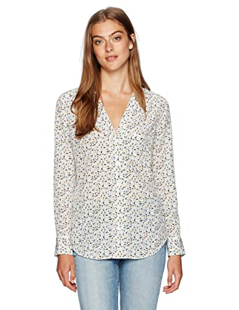 30d3d7aa204588 Amazon.com  Equipment Women s Keira Blouse  Clothing