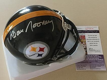 690eae19d Amazon.com: Dan Rooney Autographed Pittsburgh Steelers Mini Helmet ...
