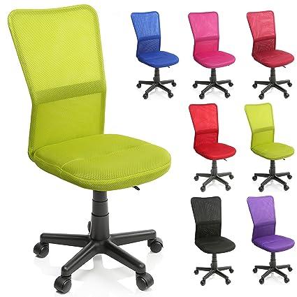 TRESKO Silla de Oficina Escritorio giratoria, Disponible en 7 Variantes de Colores, con Ruedas