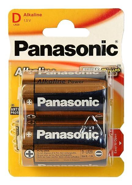 c6368717e Panasonic POWER LR20 D - Pack de 2 pilas alcalinas: Amazon.es ...