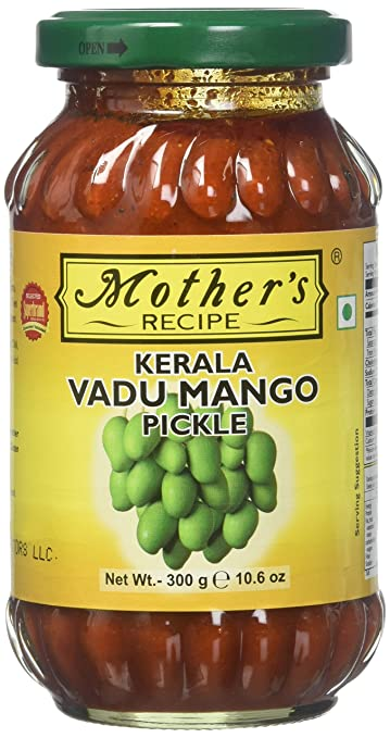 Amazon mothers recipe kerala vadu mango pickle 300 g mothers recipe kerala vadu mango pickle 300 forumfinder Images