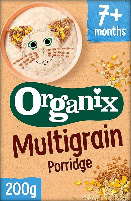 Organix Cereals Stg2 Multigrain Porridge 200G