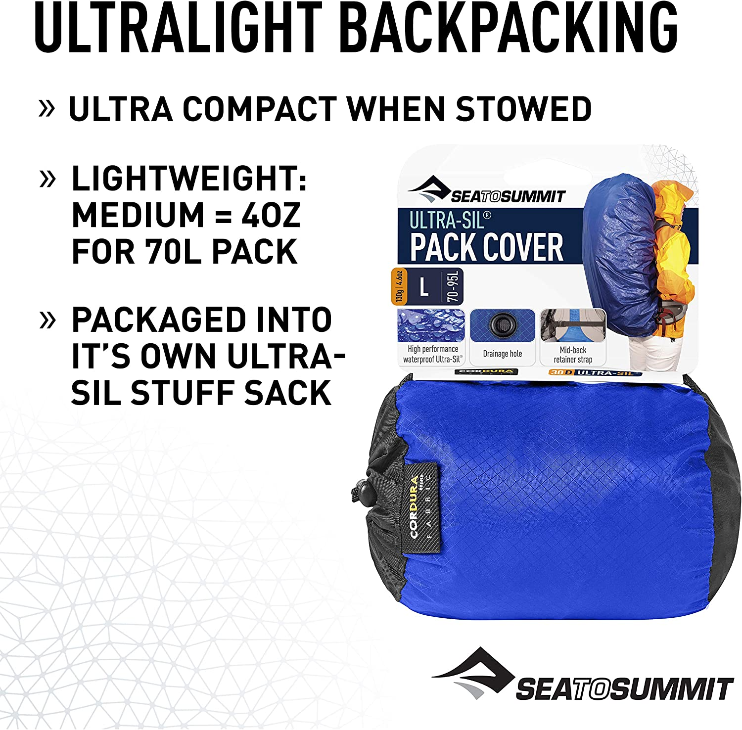 Sea to Summit Ultra-Sil Super Light Lot Coque