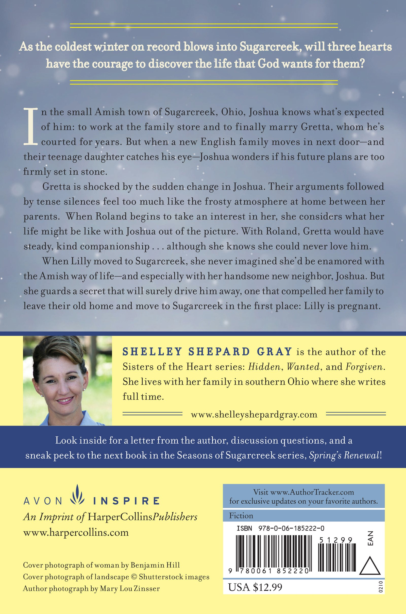 Winter's Awakening: Seasons of Sugarcreek, Book One: Shelley Shepard Gray:  9780061852220: Amazon.com: Books