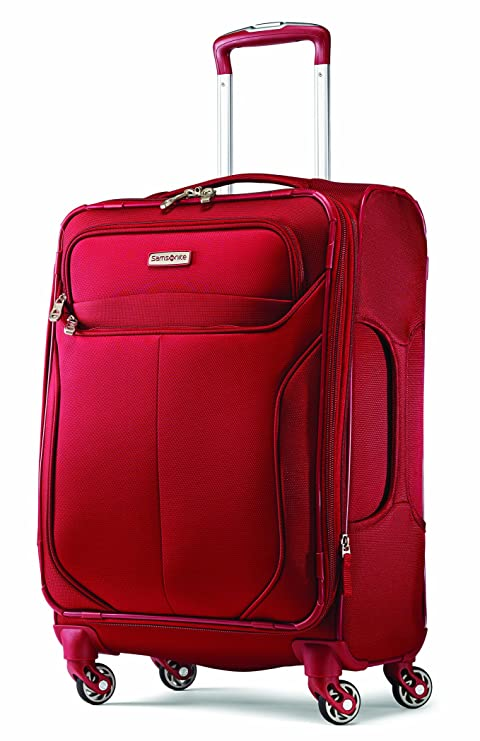 76630d9ee Samsonite Liftwo 19-Inch Carry-on Spinner Suitcase, Red, International  Carry-on: Amazon.ca: Luggage & Bags