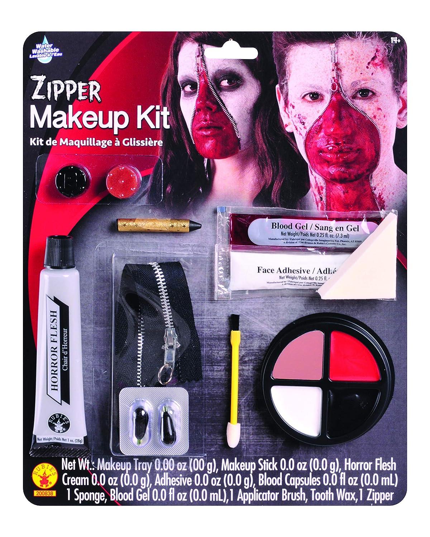 Rubie's Value Costume Make-Up Kit, Zipper