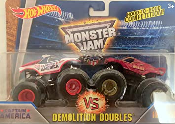 Amazon Com Captain America Vs Iron Man Monster Jam Monster