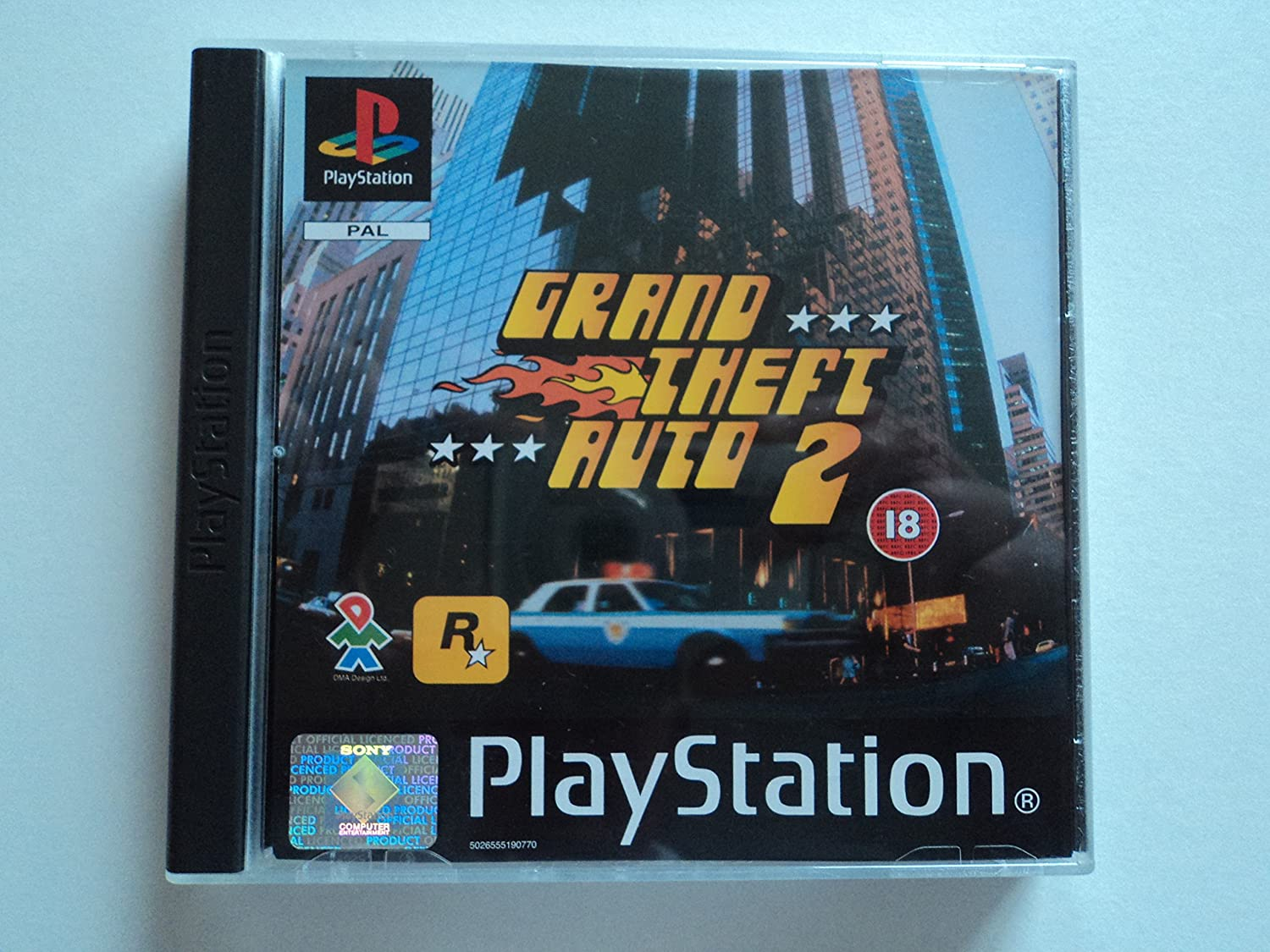 Grand Theft Auto 2 (PS1): Amazon co uk: PC & Video Games