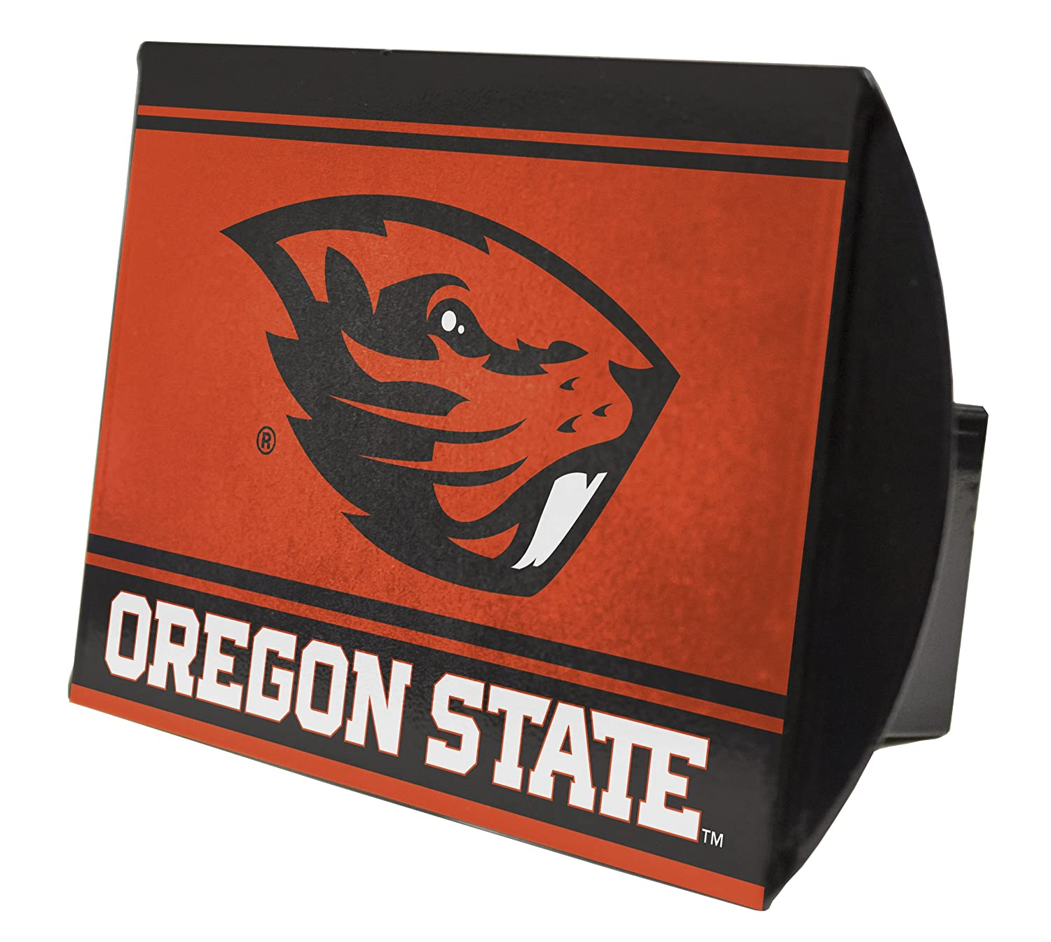 Oregon State BeaversメタルTrailer Hitch cover-oregon State Beavers Hitchカバー   B01H7IOCYM