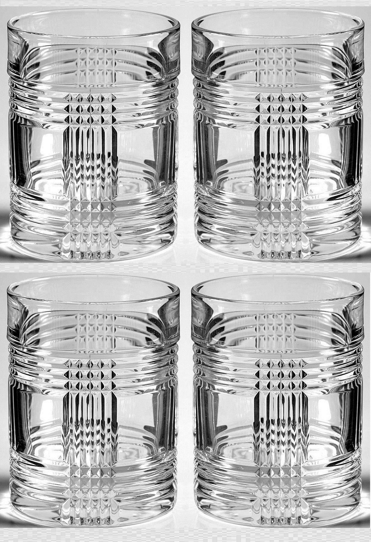 Ralph Lauren Glenplaid Double Old Fashioned Glass (Set of 4)