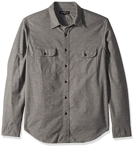 best loved uk cheap sale multiple colors Buy J.Crew Mercantile Men's Long-Sleeve Elbow Patch Shirt at Amazon.in