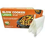 Western Orange - PREMIUM BRAND - Slow Cooker Crock Pot Liners - 1 box of 8. Thicker than the leading brand and new smaller box! Kosher (OU) Cert. Made in USA! BPA Free!