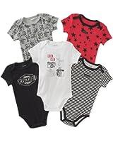 Calvin Klein Baby Boys' 5 Pack Bodysuits