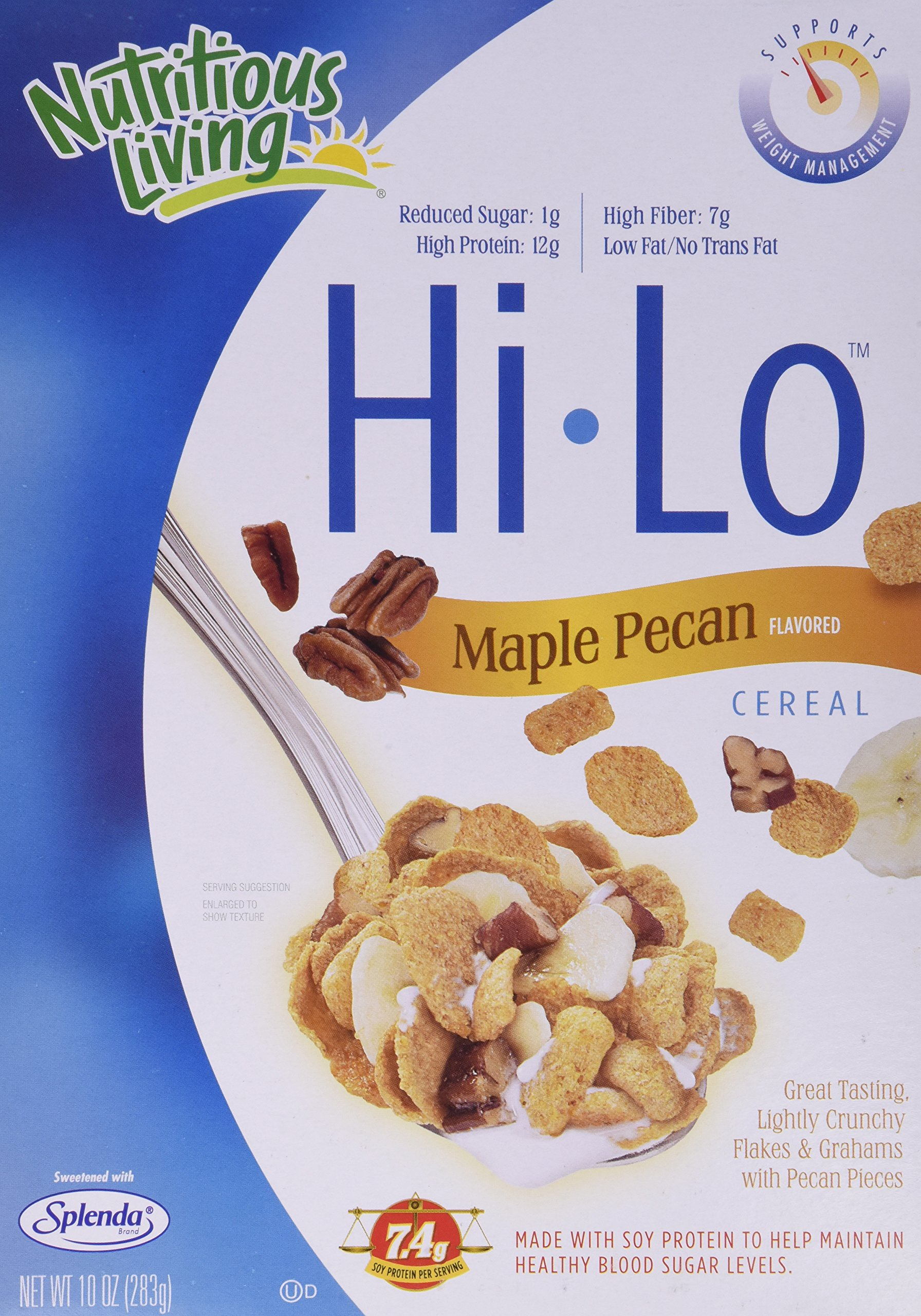 Nutritious Living Hi-Lo Maple Pecan Cereal, 10-Ounce Units (Pack of 6) by Nutritious Living