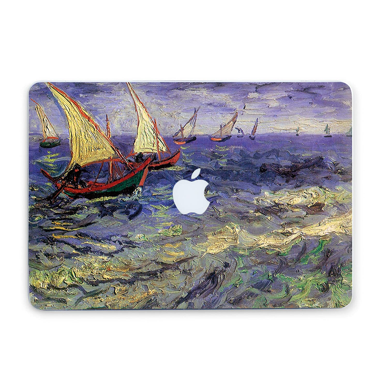 , Noche estrellada A1502 y A1425 ZVStore Funda para MacBook Van Gogh Dise/ño de arte Funda protectora Funda r/ígida de pl/ástico Pro para MacBook Pro Retina 13