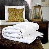 """Silk Bedding Direct. SILK-FILLED DUVET. Single. Spring/Autumn (9 Tog). 100% Mulberry Silk. Hypoallergenic. 200cm x 140cm / 79"""" x 55"""". OEKO-TEX® Standard 100 Certification. SPECIAL"""