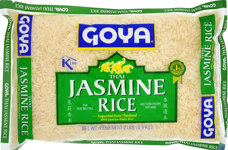 Goya Foods Thai Jasmine Rice, 2 Pound (Pack of 20)