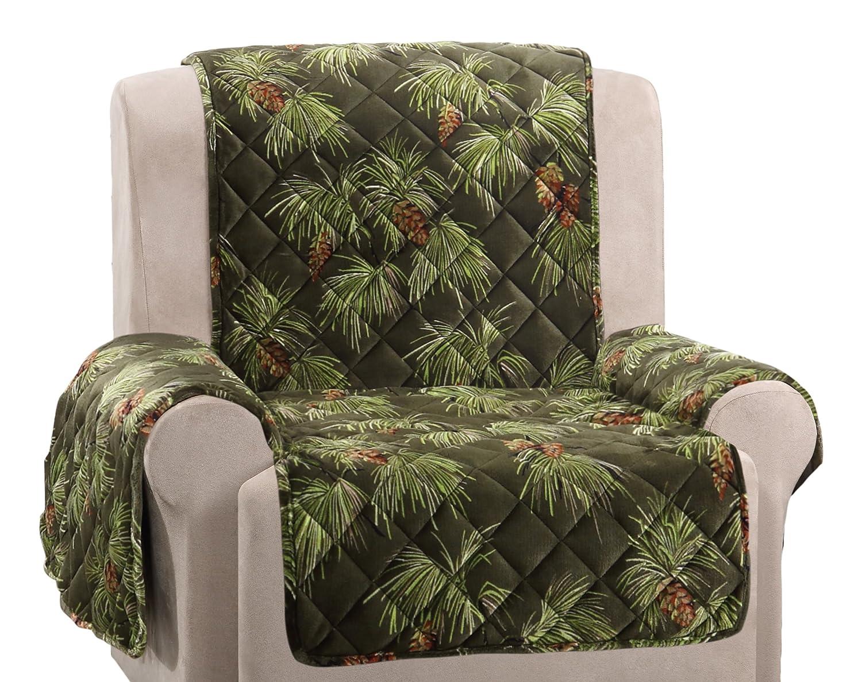 SureFit  Lodge Sofa Pet Throw/Slipcover with Arms, Tartan Plaid Sure Fit Inc. SF45644