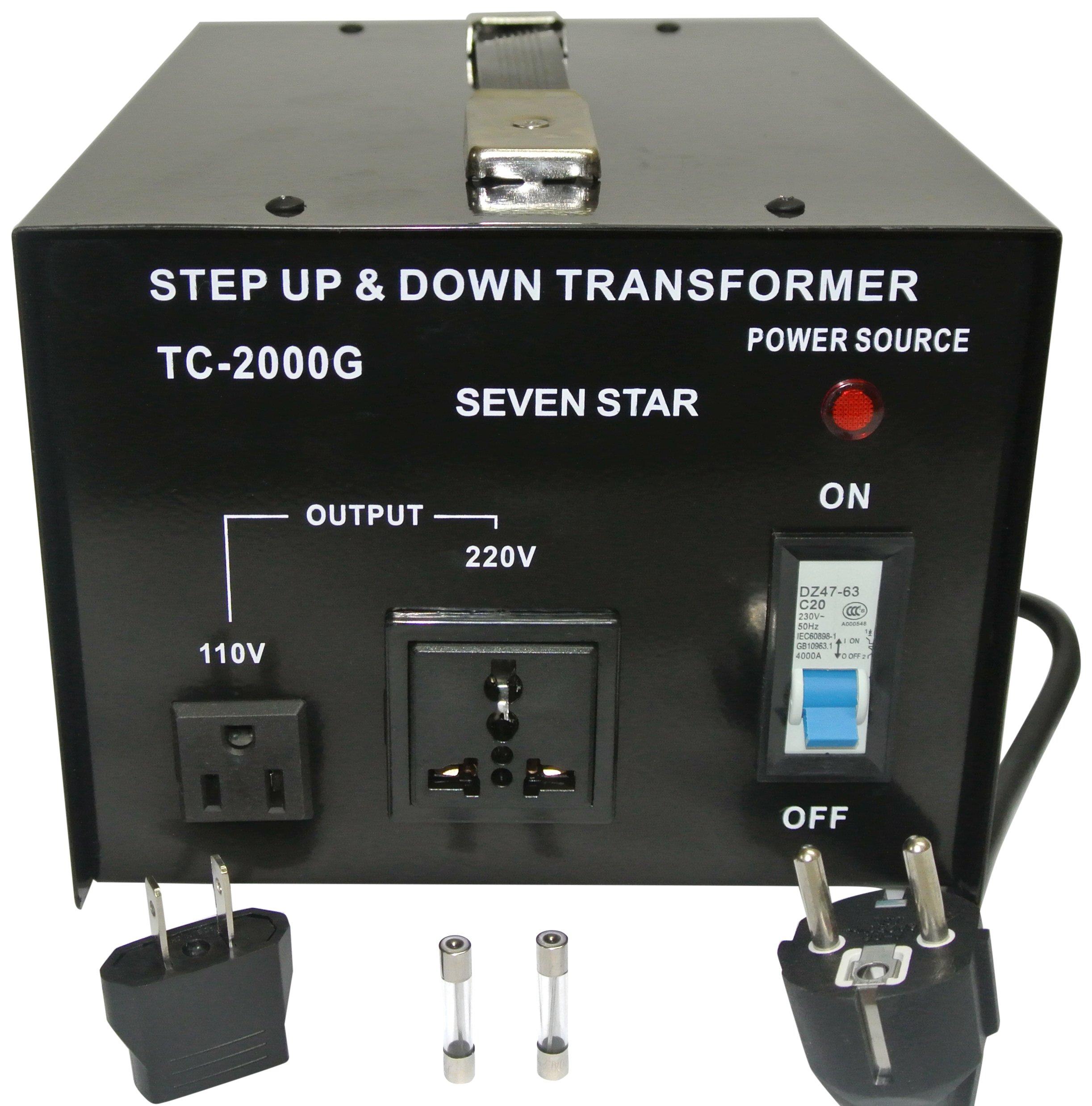 SEVENSTAR tc 2000 Watt Voltage Transformer