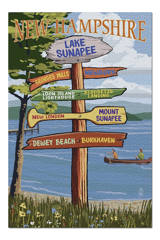 【60%OFF】 湖Sunapee 湖Sunapee、New、New 20 Hampshire – x Destinations案内標識( 20 x 30プレミアム1000ピースジグソーパズル、アメリカ製。 ) B076PWWNJD, 健康のお手伝い:1604c8bf --- a0267596.xsph.ru