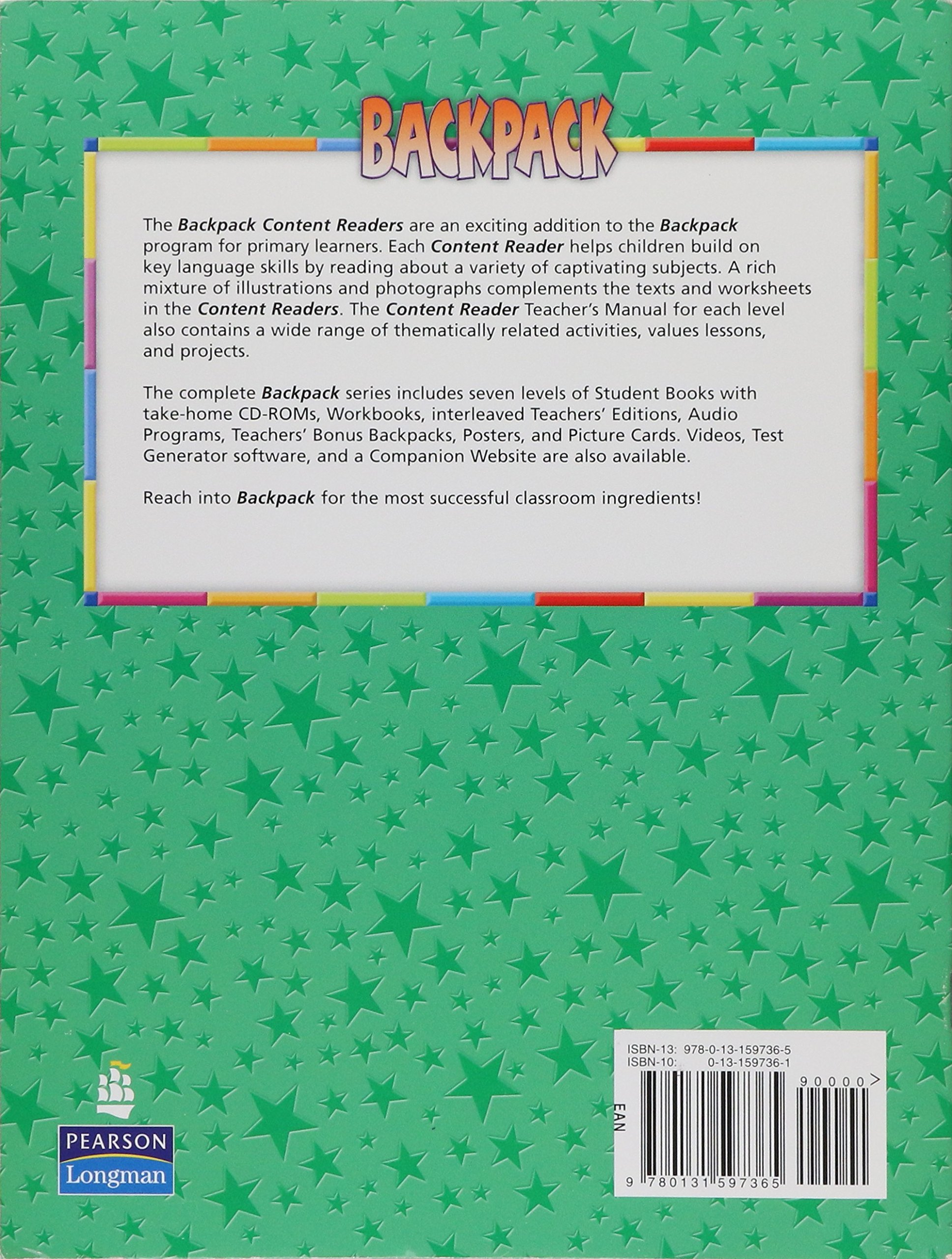 Buy Backpack 2 Content Reader Book Online at Low Prices in
