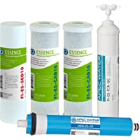 APEC Water Systems FILTER-MAX-ES50 50 GPD Essence 5 Stage High Capacity Filter Set