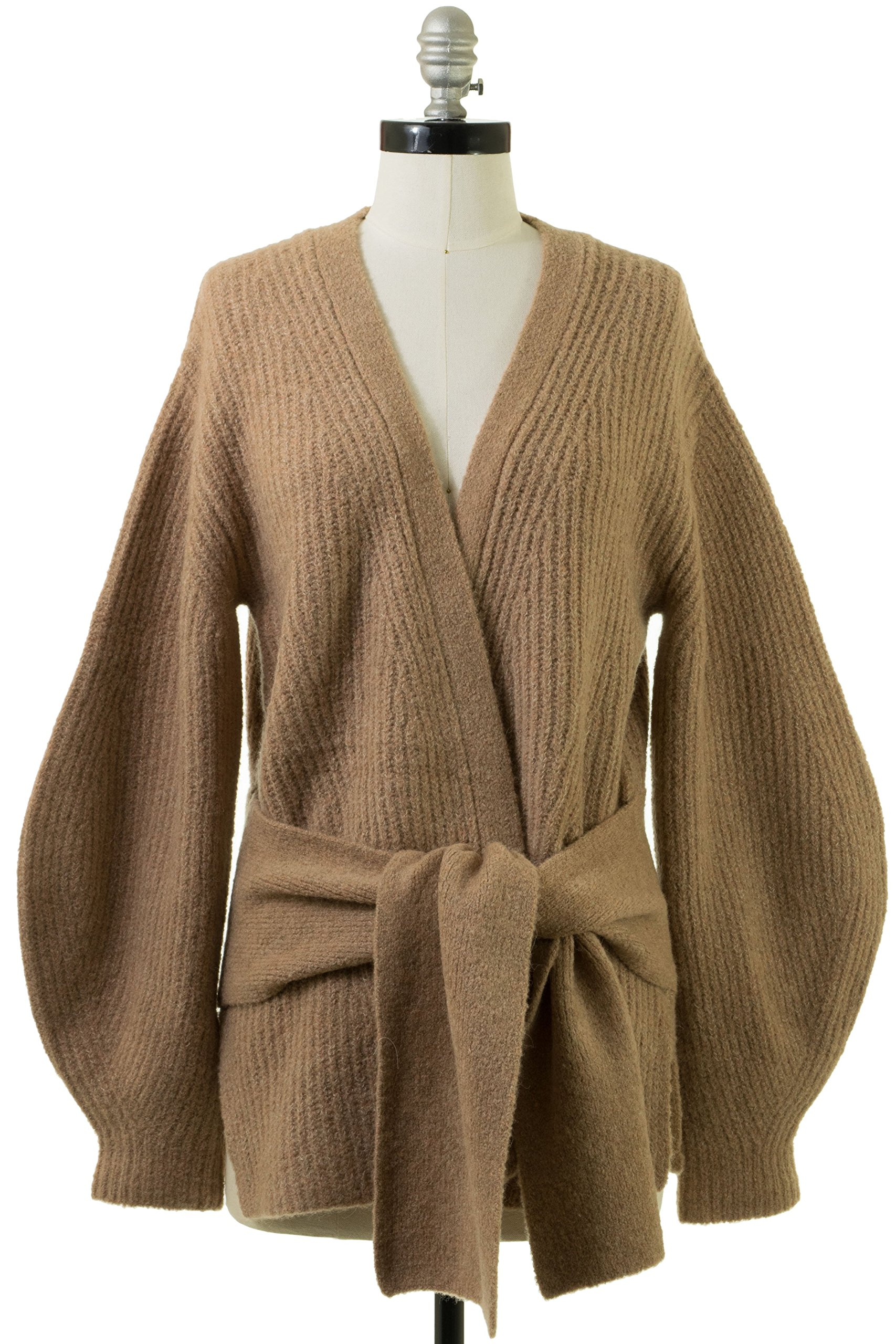 Brochu Walker Hansen Belted Cardigan in Amber Clay Multi by Brochu Walker