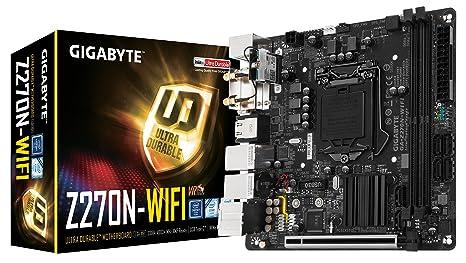 Amazon.com: Placa base Gigabyte LGA1151, Intel Z270, dos ...
